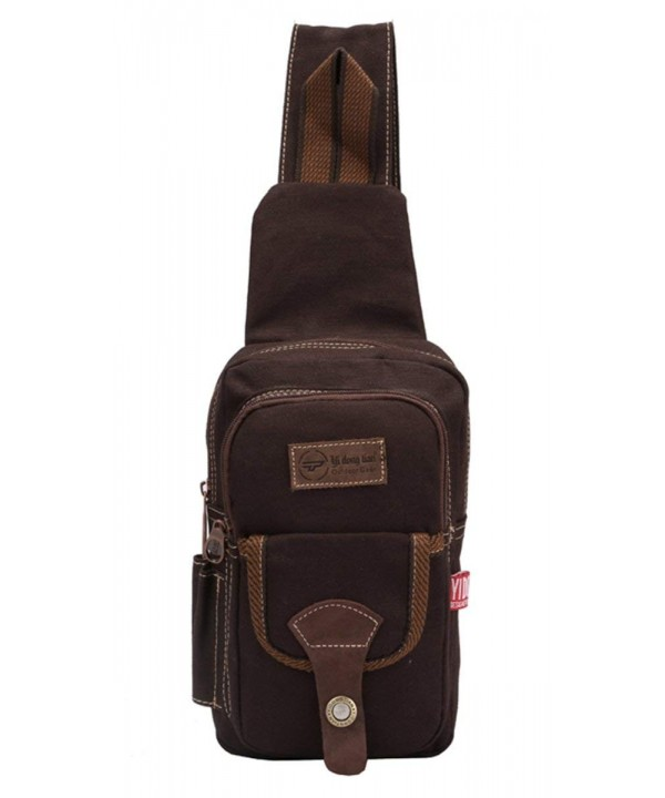 Genda 2Archer Canvas Messenger Coffee