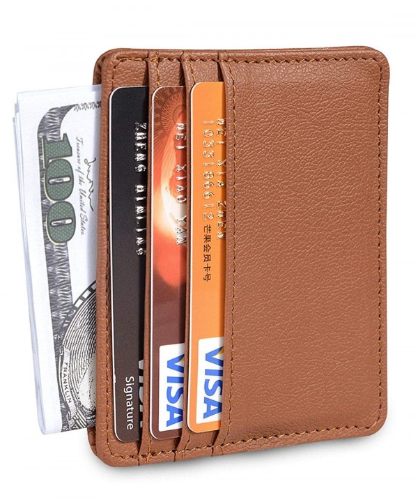 Leather Business Holder Credit Wallet