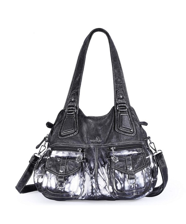 Angelkiss Shoulder Leather Handbags Massage