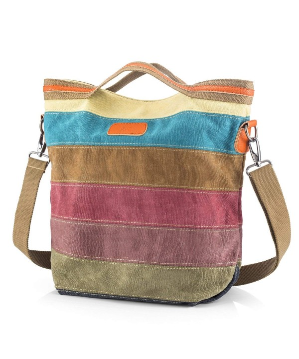 SNUG STAR Multi Color Shoulder Tote Handbag