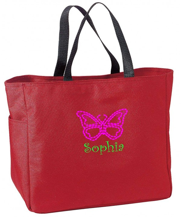 Butterfly Personalized Sport Essential Tote