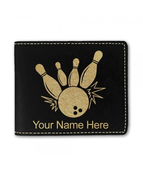 Leather Bowling Personalized Engraving Included
