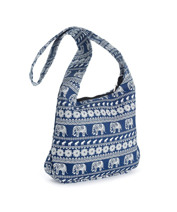 Tribal Elephant Slouch Messenger Shoulder