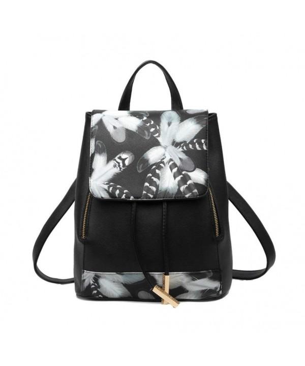 Hynbase Fashion Backpack Schoolbag Shoulder