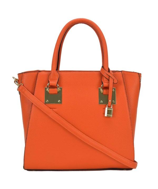 Dasein Womens Handbags Satchel Shoulder