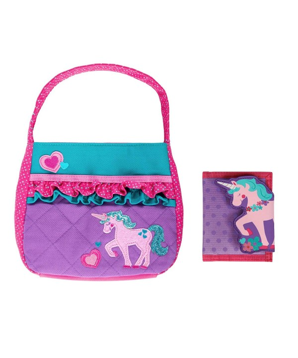 Stephen Joseph Quilted Unicorn Wallet