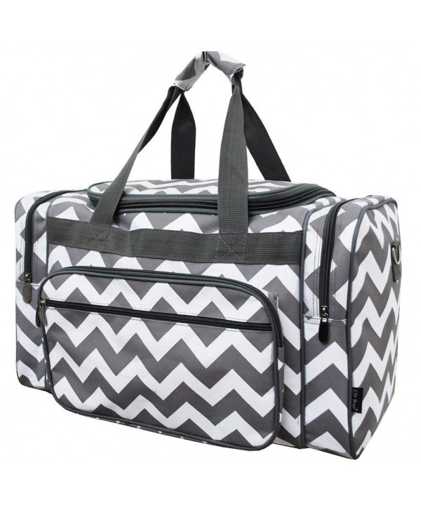 Chevron NGIL Canvas Carry Duffle