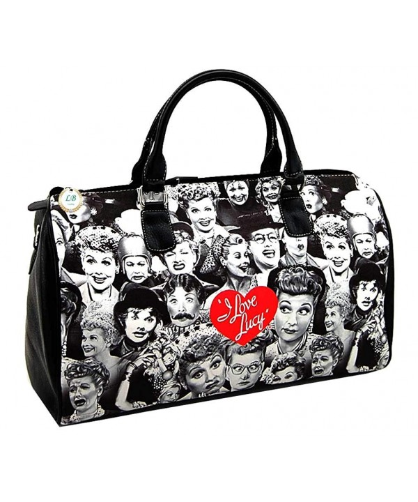 Lucy Collage Large Duffel Travel