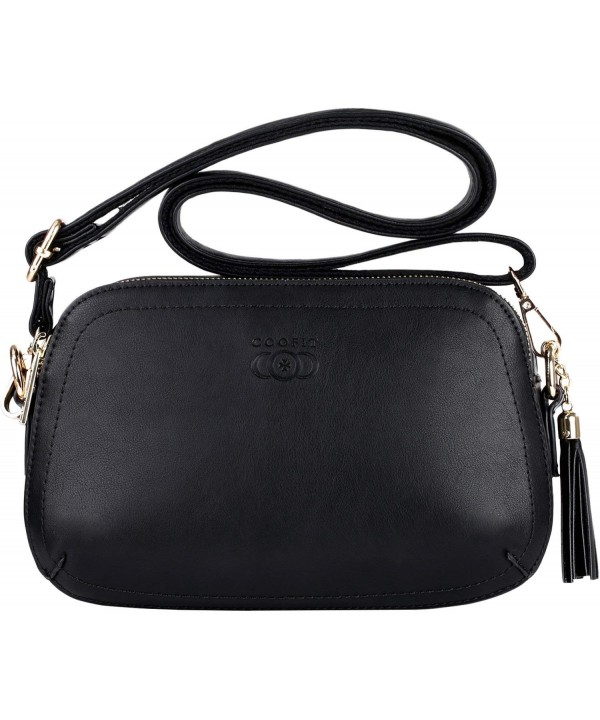 Crossbody COOFIT Handbags Leather Shoulder