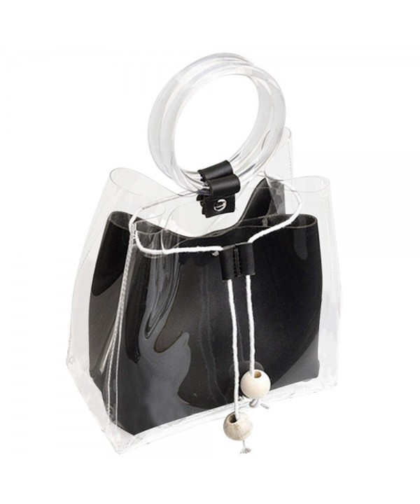 DALFR Waterproof Transparent Purses Handbags