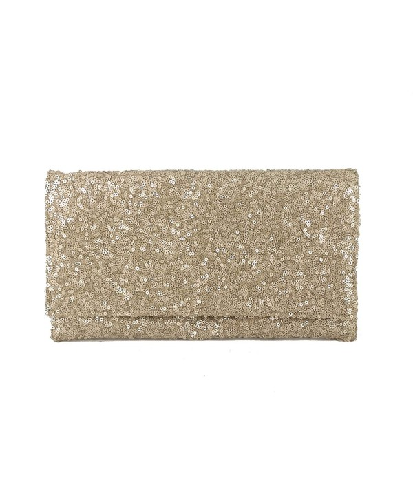 Womens Sparkly Evening Shoulder Beige