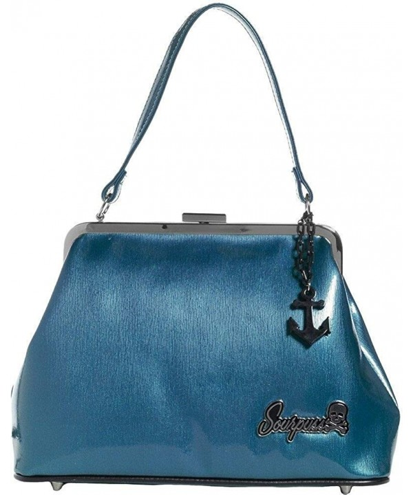 Sourpuss Brand Betsy Purse Anchor
