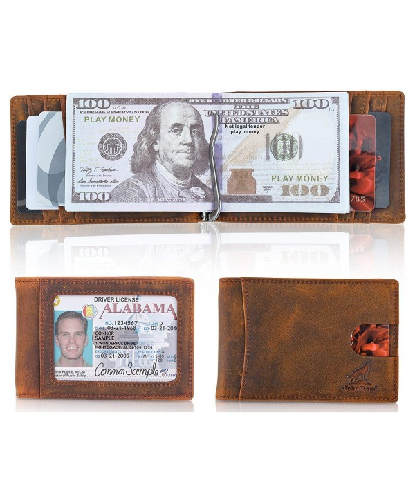 Slim Genuine Leather Money Wallet