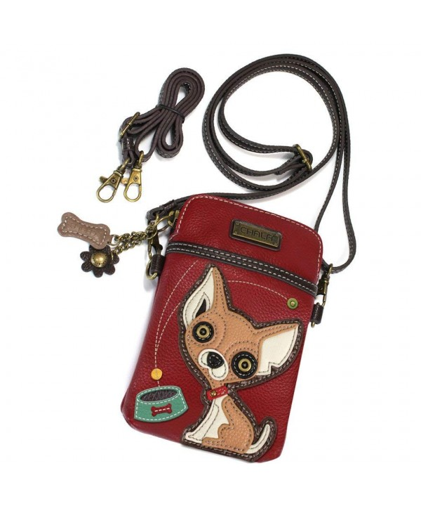 CHALA Crossbody Wristlet Adjustable Chihuahua