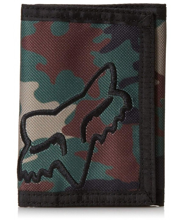 Fox Mens Clean Wallet Camo