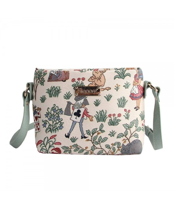 Signare Cross body Adjustable Wonderland XB02 ALICE