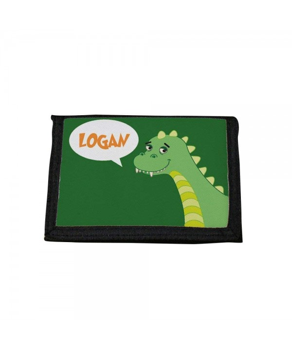 GiftsForYouNow D0162 Dinosaur Personalized Wallet