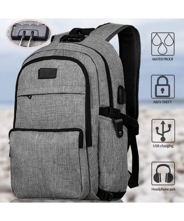 Backpack Business Waterproof Headphone Interface