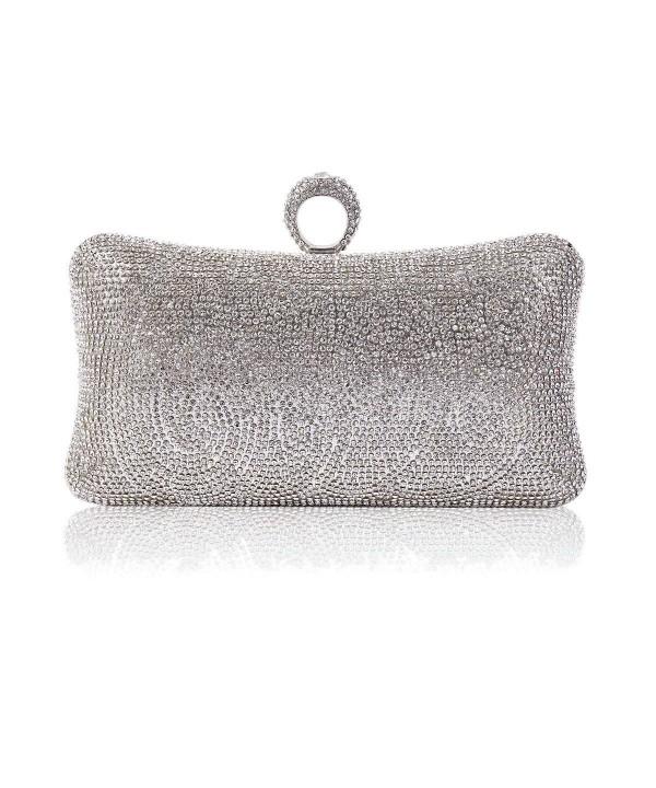 Damara Rhinestone Pillow Shaped One ring Evening