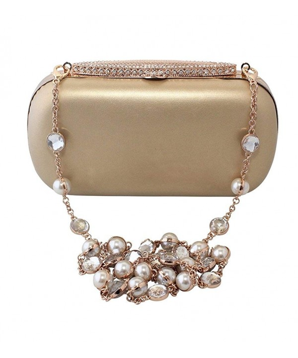 Chicastic Cocktail Clutch Rhinestone Studded