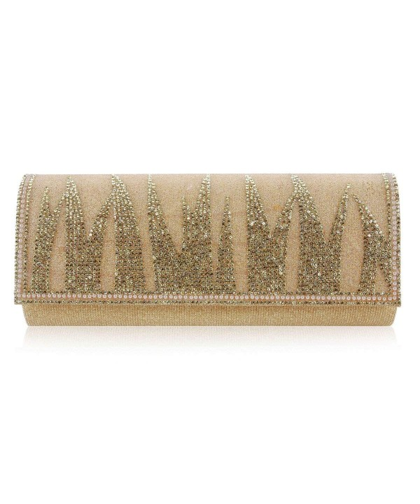 Damara Tussock Rhinestones Evening Handbags