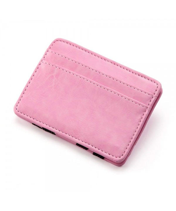Unisex Leather Holder Magic Wallet