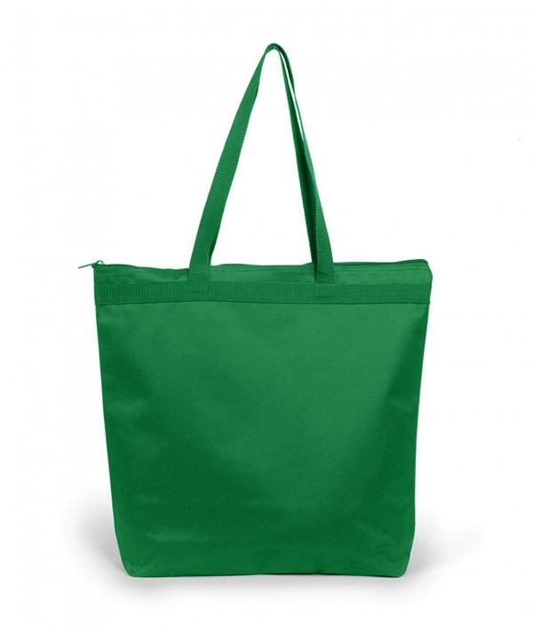 UltraClub 8802 Zippered Tote Bag