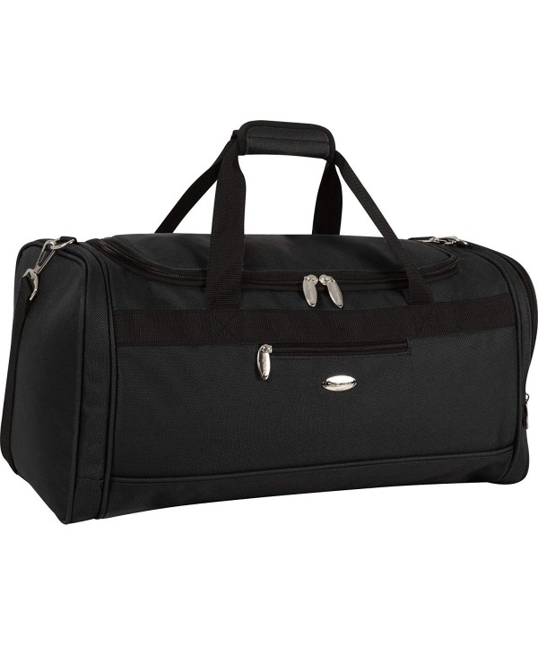 Travel Gear Carry Duffle Black