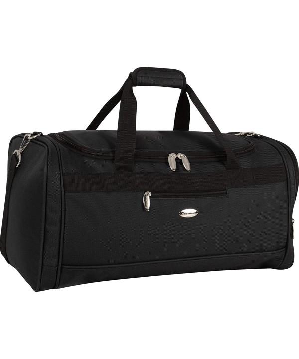 Travel Gear Carry Duffle Black