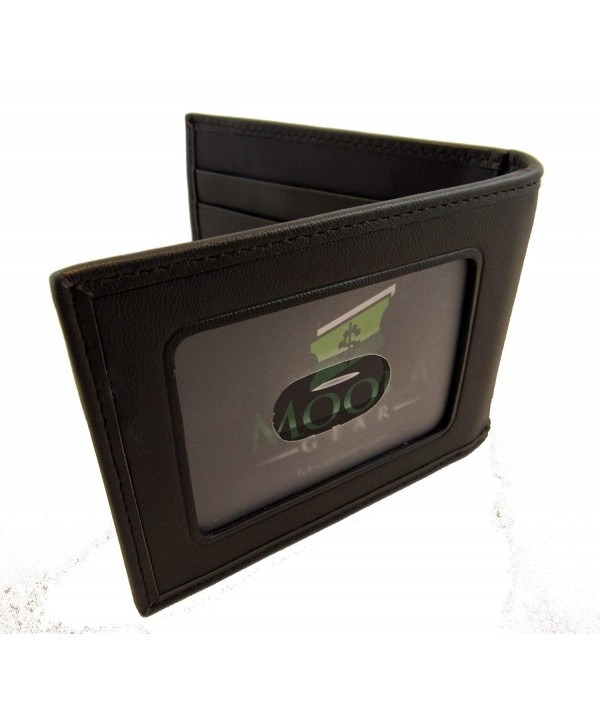 Leather Wallet bi fold design exterior