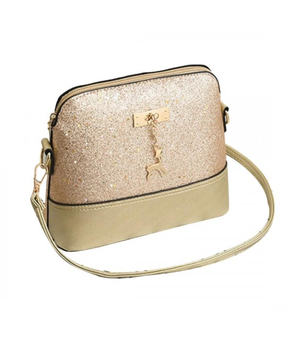 Sequins Shoulder Cross body Bag Messenger