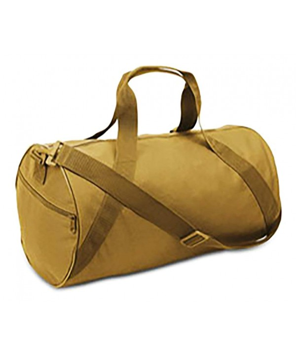 Canvas Duffle Carrying 17 inch Brown