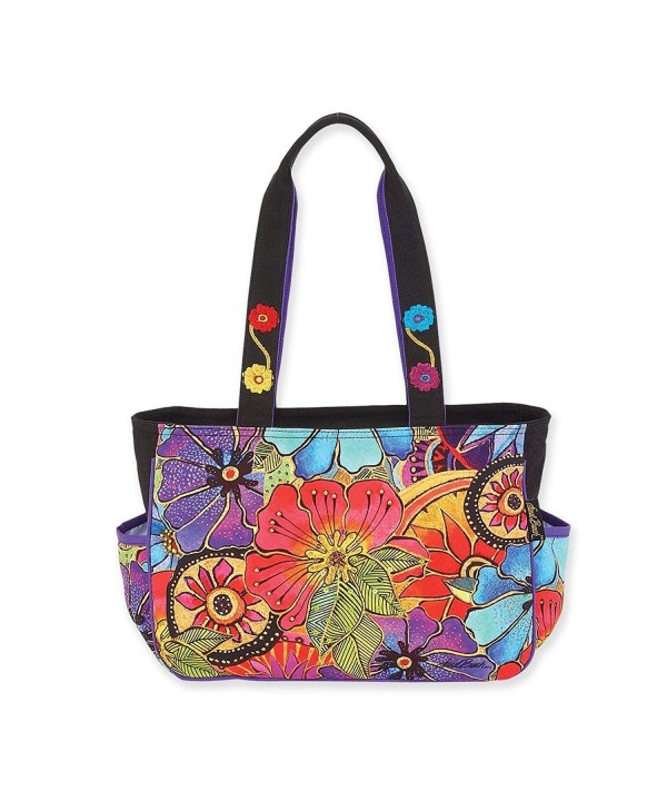 Laurel Burch Floral Medium Handbag