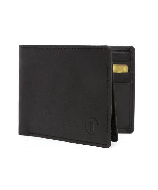 Blocking Wallet Holder Black Leather