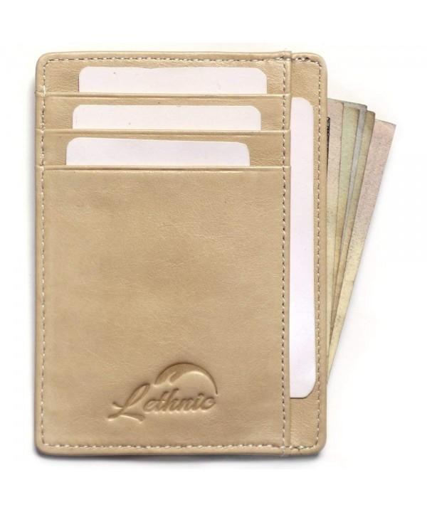 Lethnic Wallet Pocket Minimalist Window