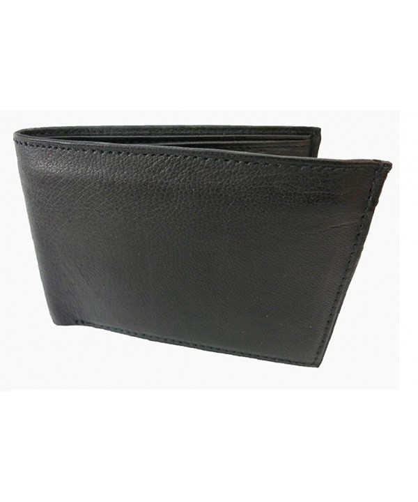 Bi Fold Leather Wallet RFID1160 Marshal