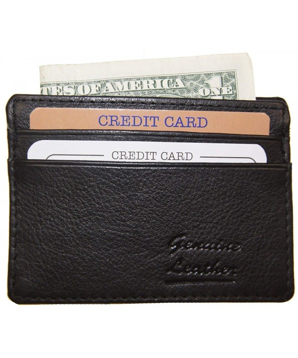 Genuine Leather Credit Wallet Wallets