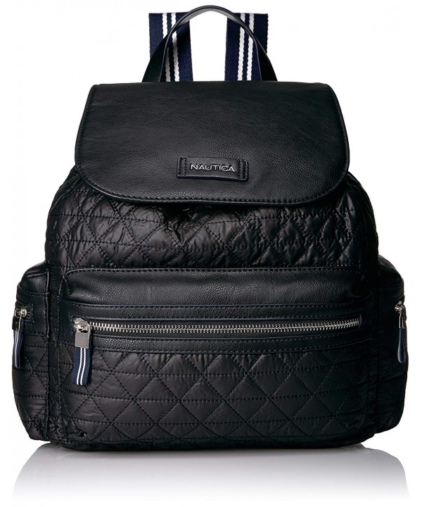 Nautica Womens Cornado Quilted Backpack