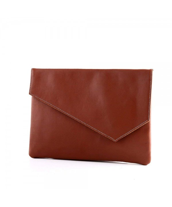 Shozafia Leather Briefcase Business Envelop