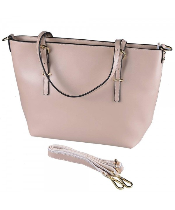 25eba91f65b4 Women Leather Handbags Tote Shoulder Bag Hand Purses and Handbags Clearance  Sale - Khaki - C818ITNT32W