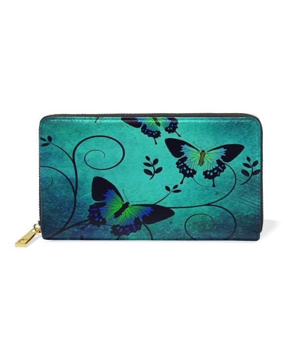 Butterfly Wallet Hulahula Genuine Leather