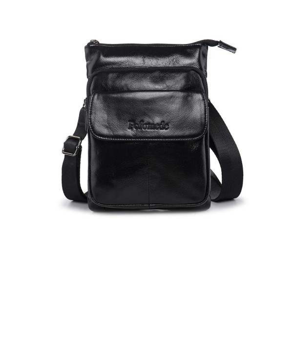 Leather Messenger Shoulder Everyday Satchel