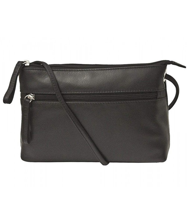 ili Leather Crossbody Handbag Lining