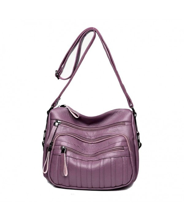 Sanxiner Leather Crossbody Multi Pocket Shoulder