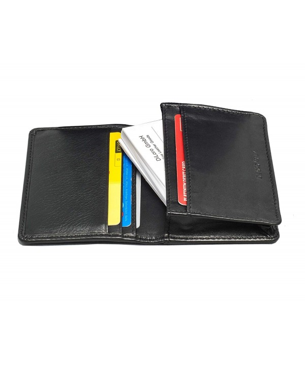 Blocking Leather Wallets Travel Quality