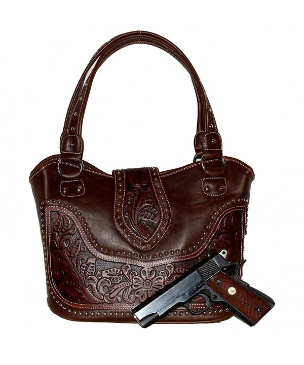 Concealed Carry Tooled Handbag Stunning