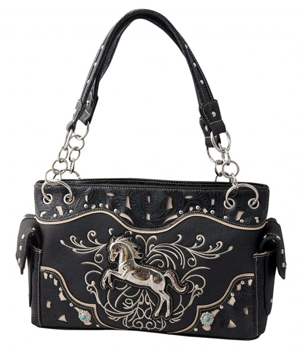 HW Collection Embroidery Equestrian Concealed