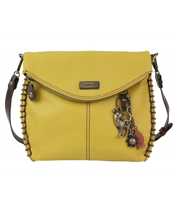 Charming Crossbody Mustard Cross Body Shoulder