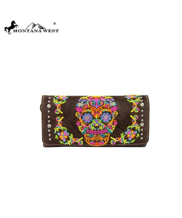 MW326 W002 Montana West Collection Wallet Coffee