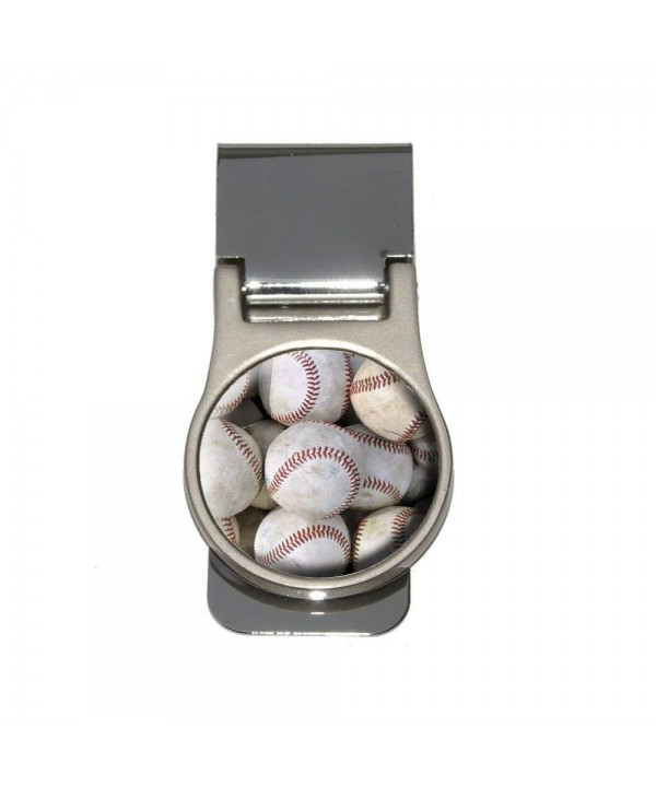 Baseballs Baseball Balls Money Clip